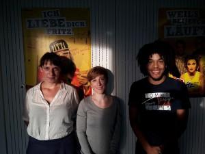 Joshua und Jette waren am 03.10.2015 zum Interview mit Caro Korneli im Caroma Club eingeladen.