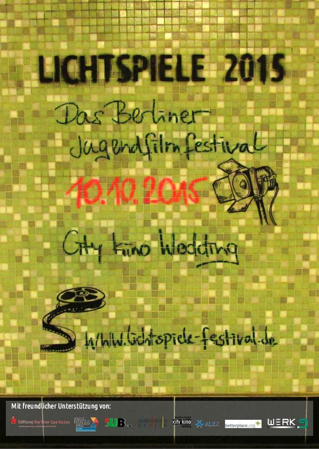 Lichtspiele 2015 Plakat